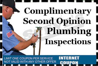 Complimentary Second Opinion Plumbing Inspection